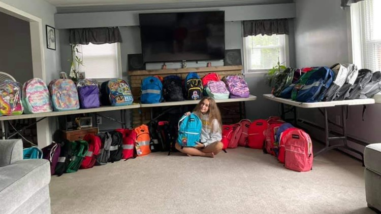Reasons to smile: Central PA teen creates backpacks of hope for area students