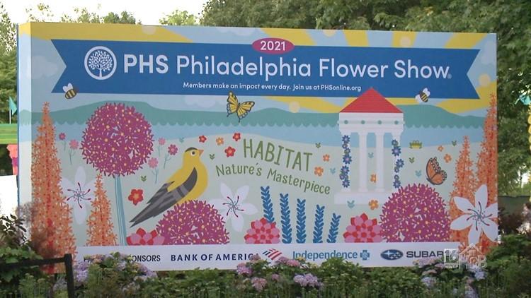 2021 PHS Philadelphia Flower Show Part 1