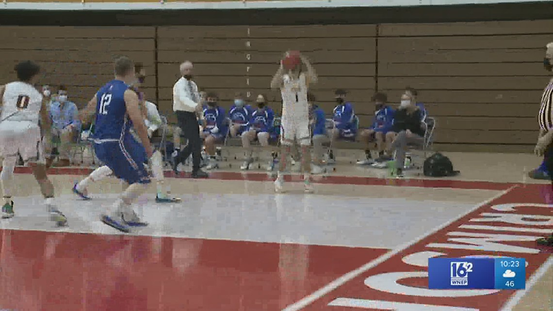 Pottsville and Nativity BVM record easy wins in the Schuylkill League boys basketball semi-finals.  The Crimson Tide and Hilltoppers to meet in Finals