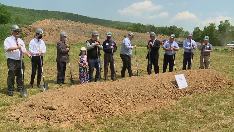 Meatpacking plant breaks ground on waste management site