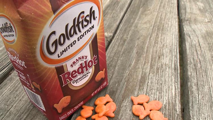 Taste Test: Red Hot Goldfish