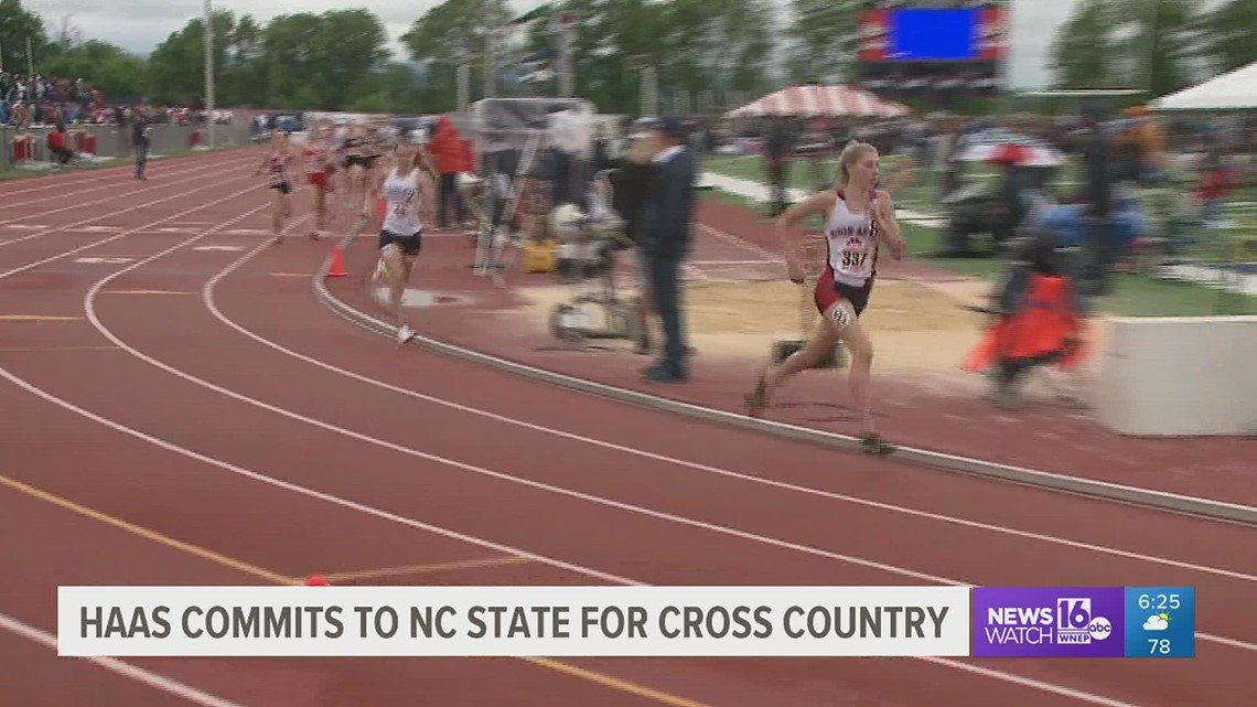 Haas Runs Final Cross Country Season Before Heading To NC State Next Fall