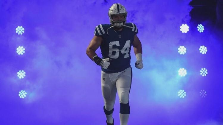 Colts' Mark Glowinski Returns to NEPA Before Super Bowl