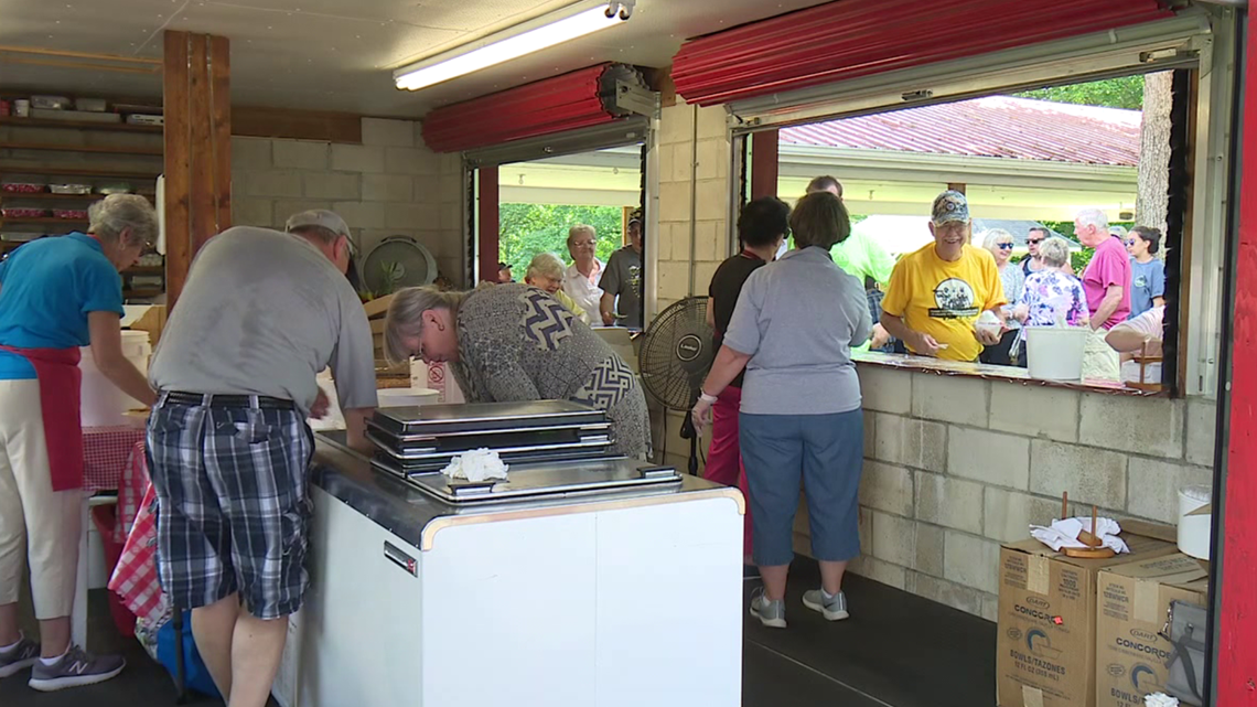 Strawberry festival and car show held in Monroe County