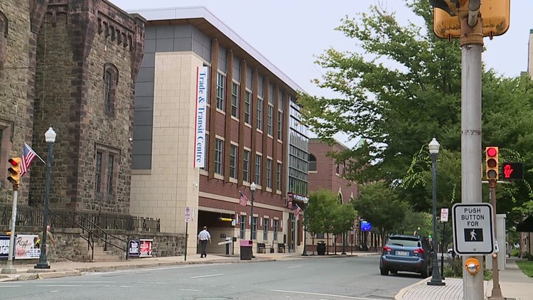 City of Williamsport working through work space transition