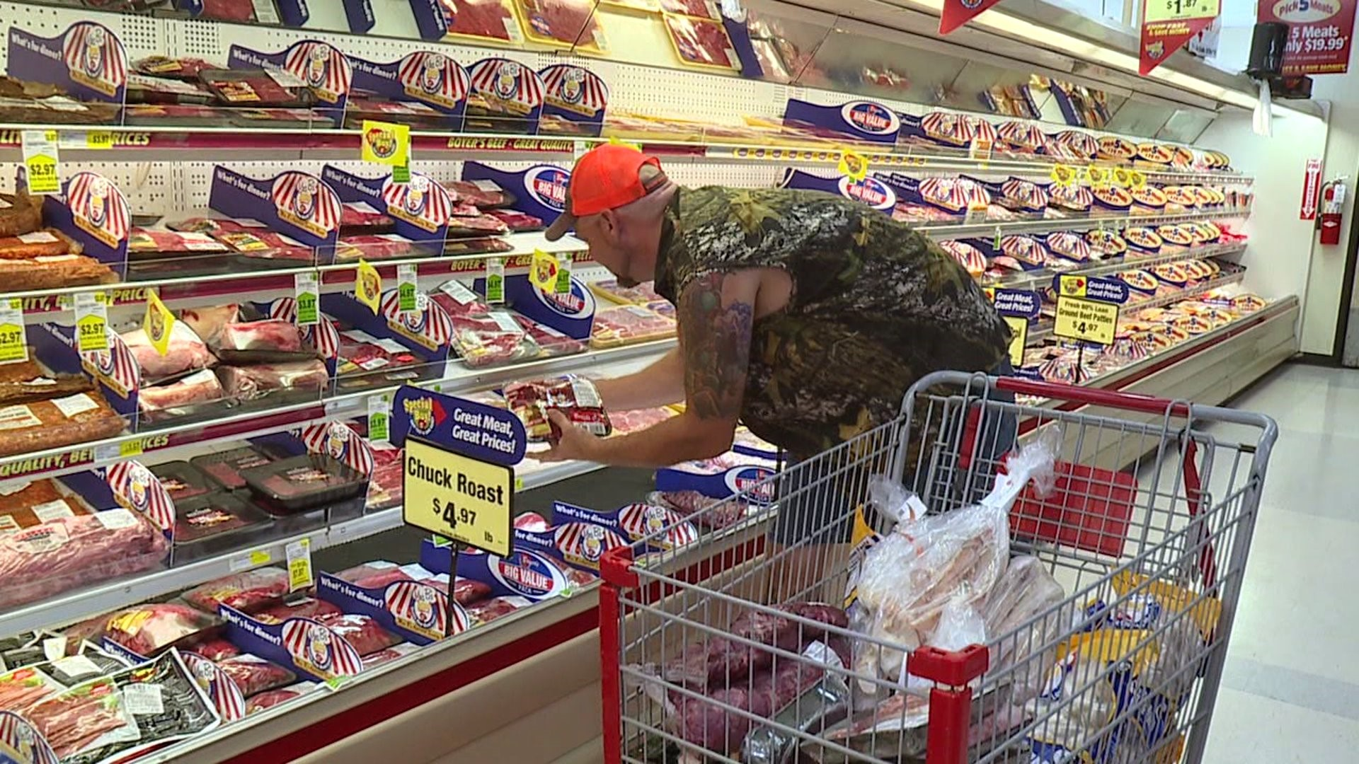 Grocery Store Shopping Spree Benefits Volunteer Fire ...