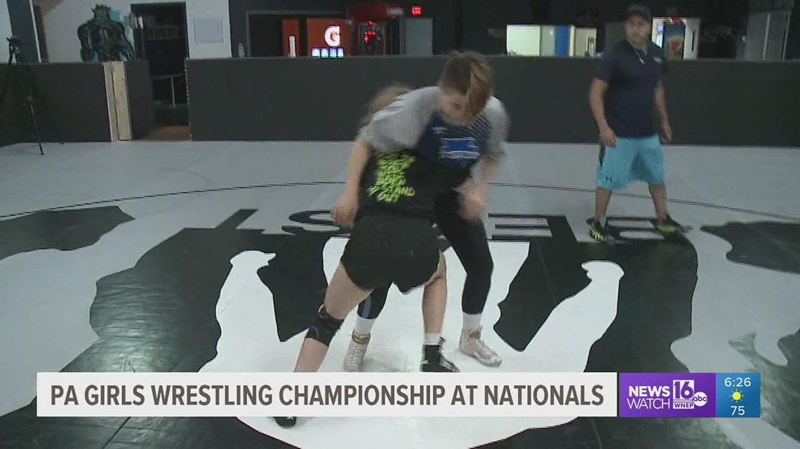 14U PA Girl's Wrestling Team Brings Home National Dual Championship