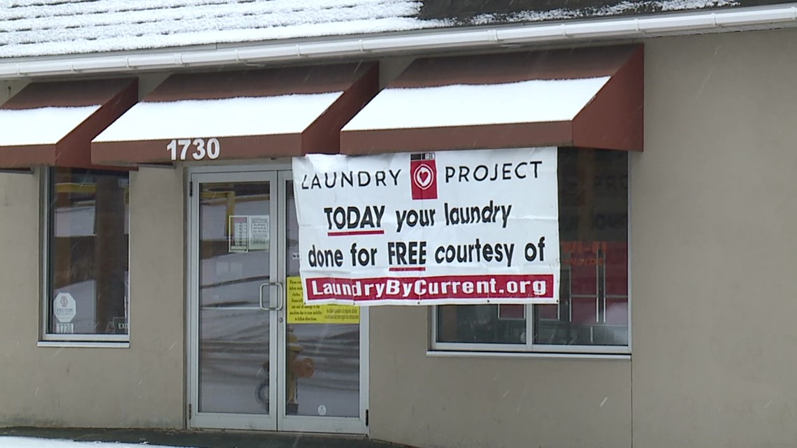 Free laundry services offered in Lackawanna County