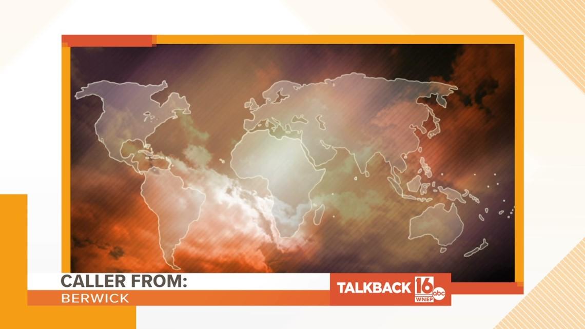 Talkback 16: Global warming calls are heating up Talkback