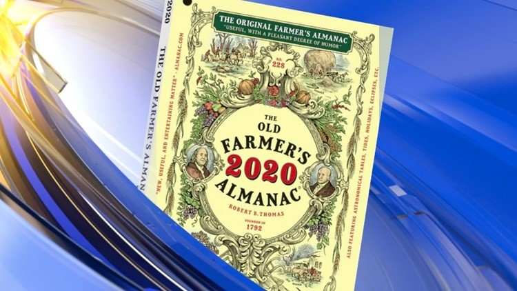 2020 Farmers Almanac Predicts Wild Winter