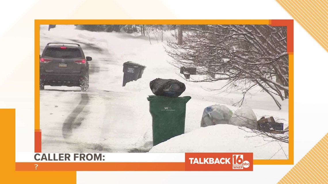 Talkback 16: Trash collection