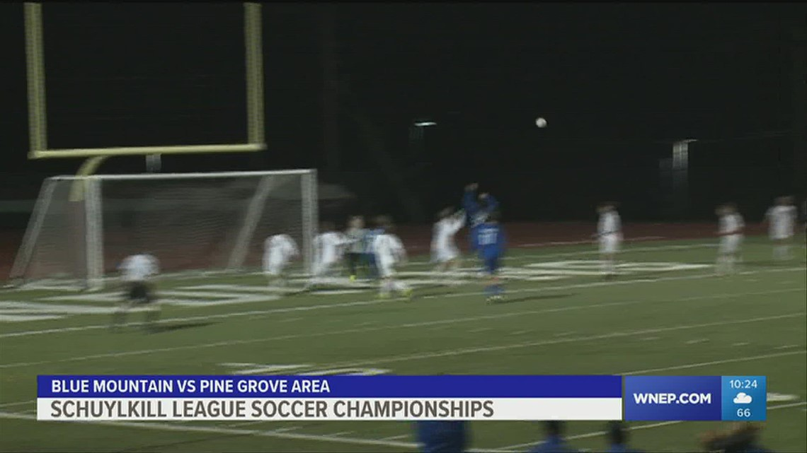 Schuylkill League Soccer Championships had Pottsville winning in girls and Blue Mountain taking the boys crown.