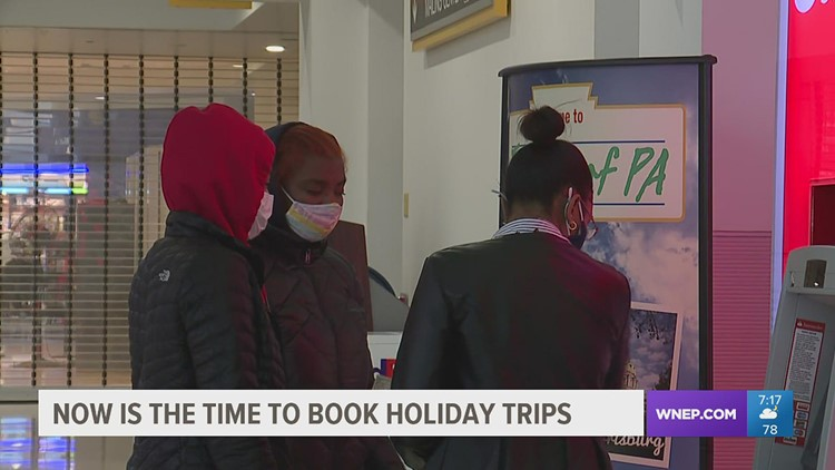 Travel agents say now is the time to book holiday flights