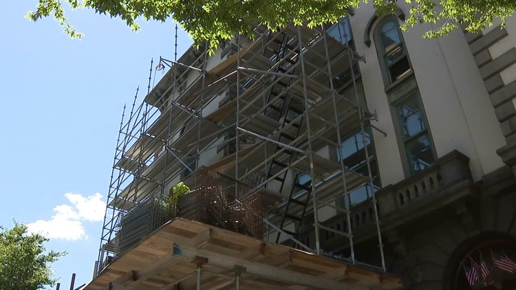 Renovations start at the Northumberland County Courthouse