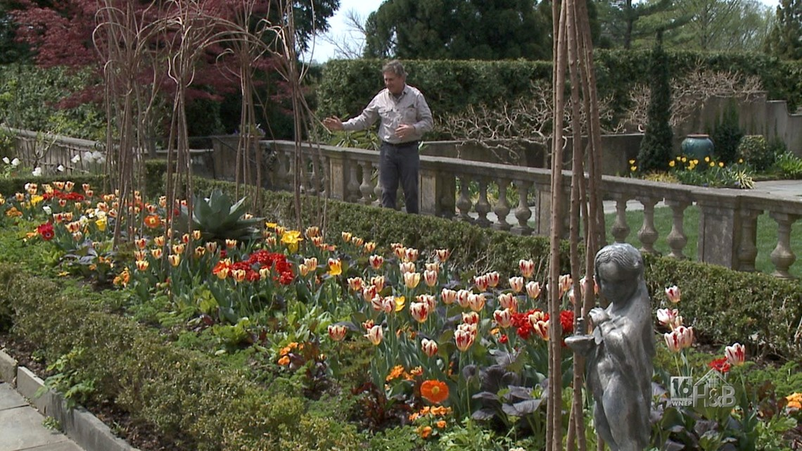 Springtime At Chanticleer Garden
