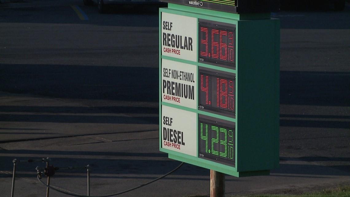 AAA: Pennsylvania has highest gas prices on east-coast