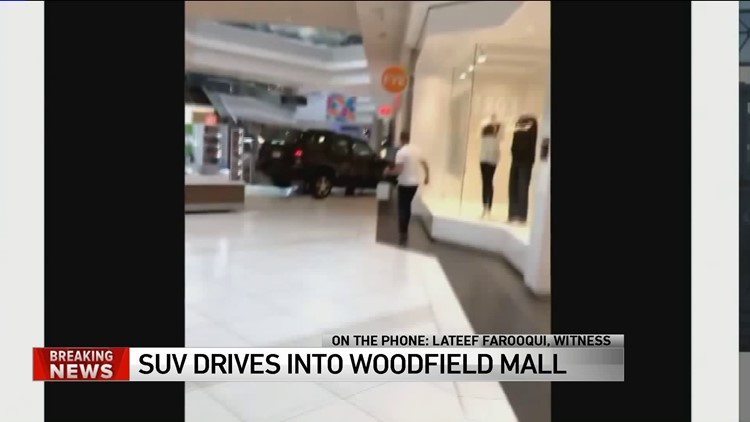 video shows suv plowing through illinois mall as shoppers scatter driver in custody wnep com wnep com