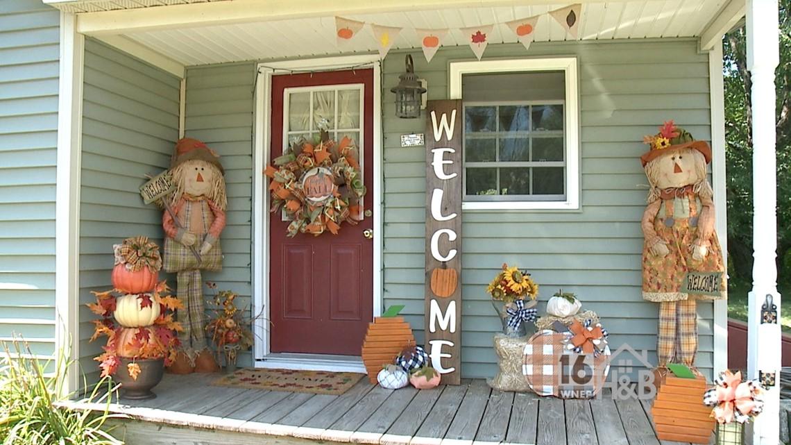 Creative Sisters - Fall Porch