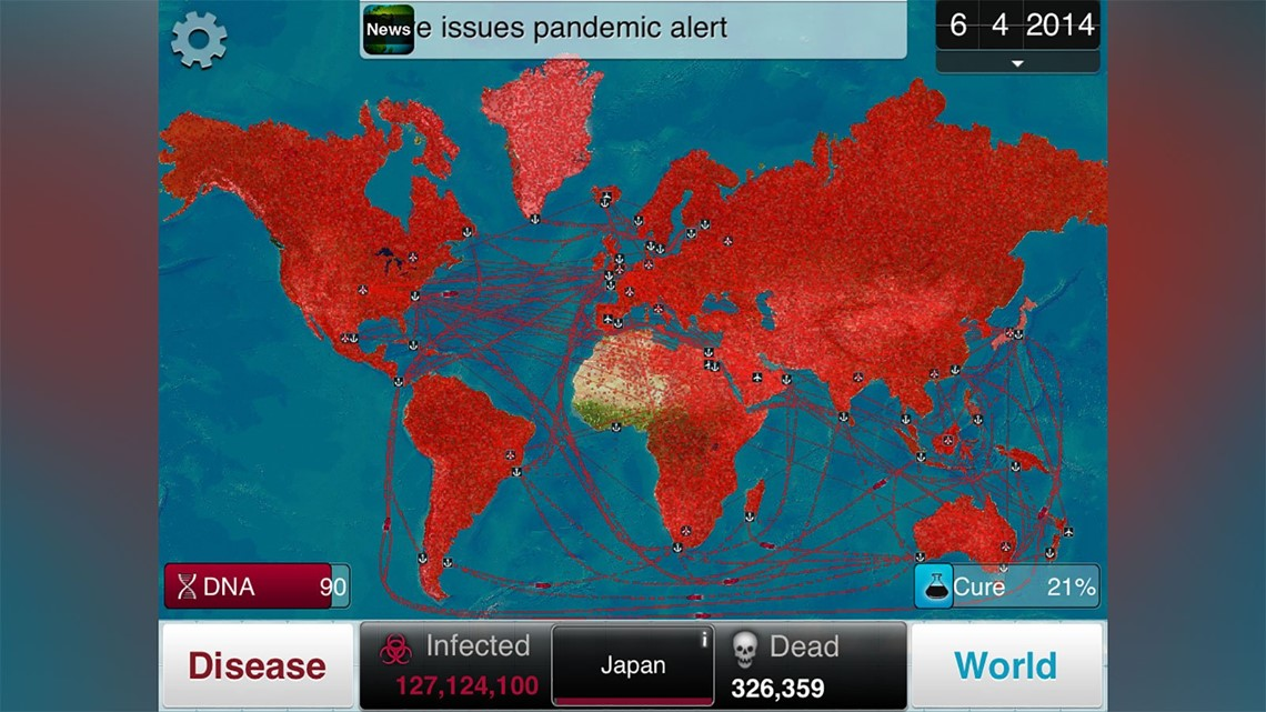 Image of: Players Urged To Avoid Plague Inc Game For Information On Coronavirus Wnep Com