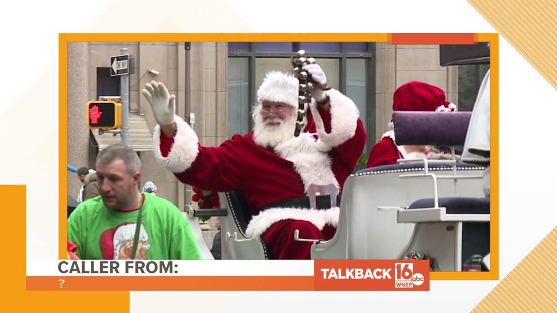 Talkback: Santa parade cancellation