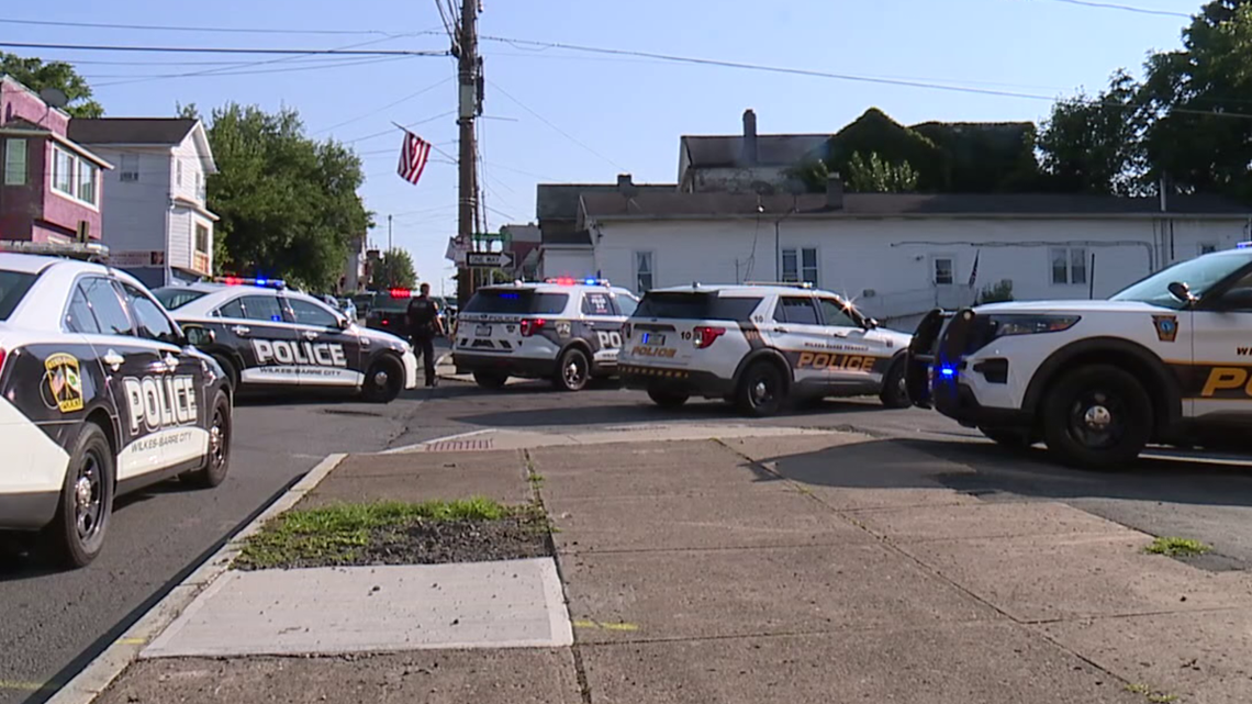 Bank robbery leads to police chase in Luzerne County