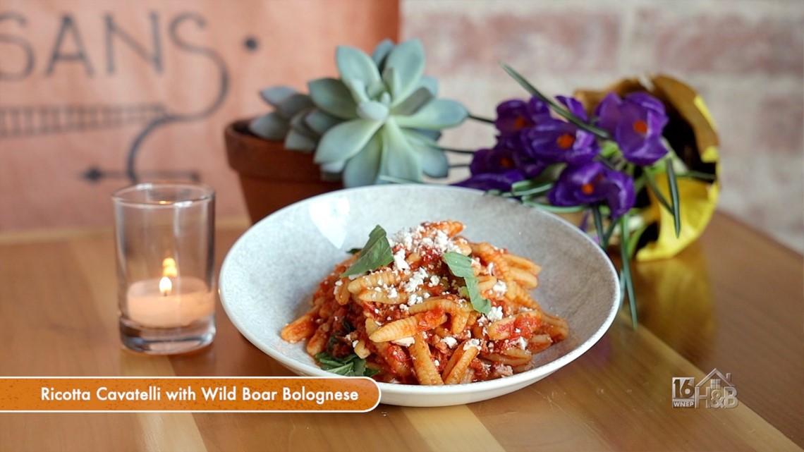 Ricotta Cavatelli With Wild Boar Bolognese