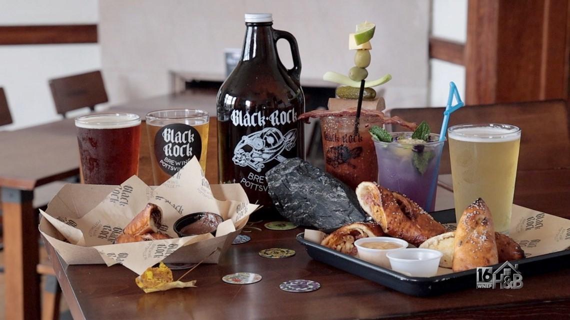 Black Rock Brewing Company's Signature Pretzel Logs