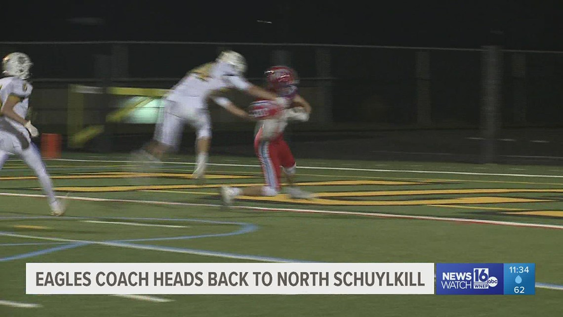 Blue Mountain Coach Tom Gallagher heads back to his Alma Mater, North Schuylkill, this week.