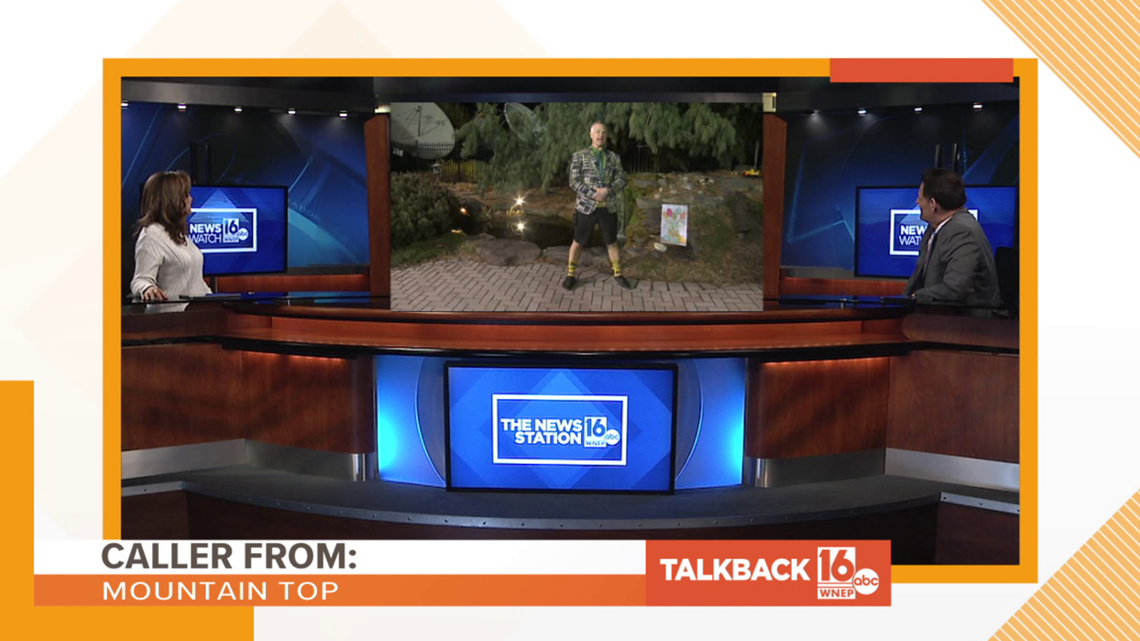Talkback 16: Joe's Easter outfit