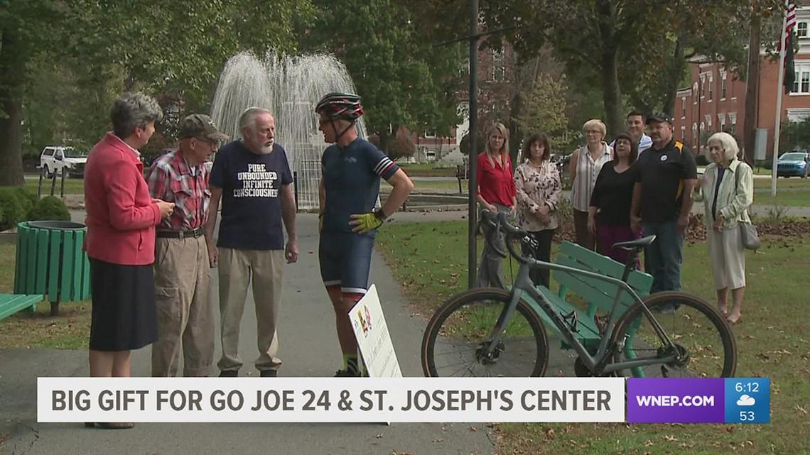 Generous donation doubles Go Joe 24 fundraising total