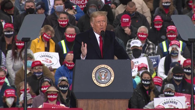President Trump rallies voters in PA
