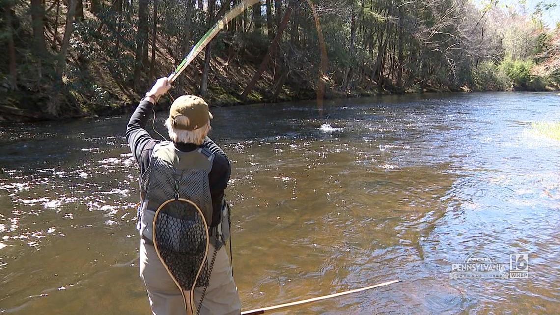 Fly Fishing Tobyhanna Creek