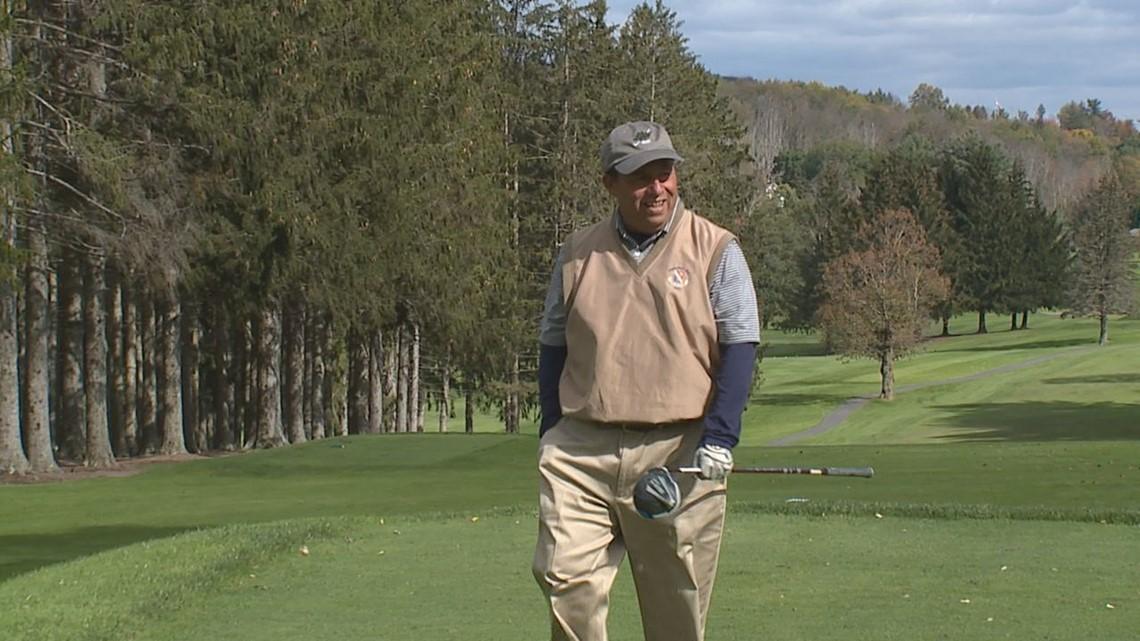 Joe Lunardi Plays in Coaches vs Cancer of NEPA Inaugural Golf Tournament