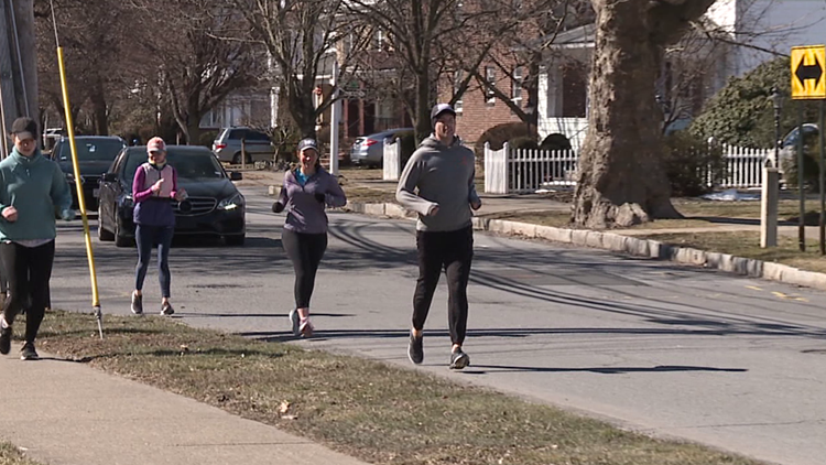 Man raises money by running in Wilkes-Barre