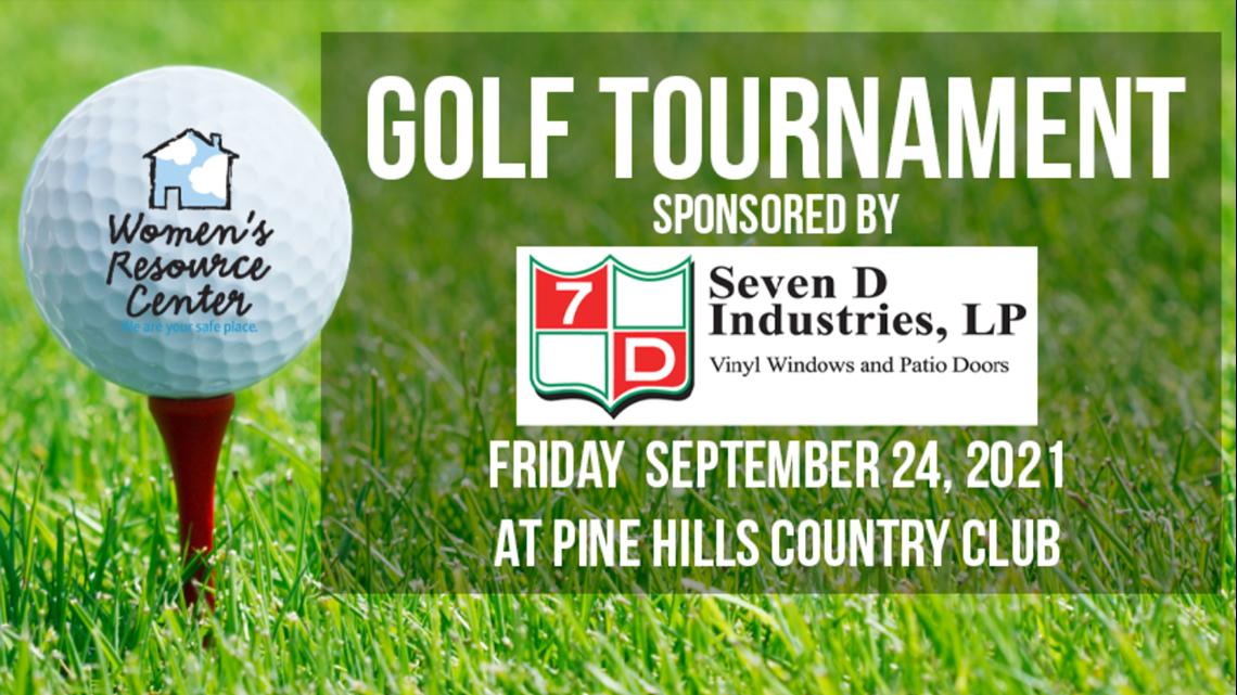 2021 Women's Resource Center golf tournament featuring Kurt Aaron and Ranger