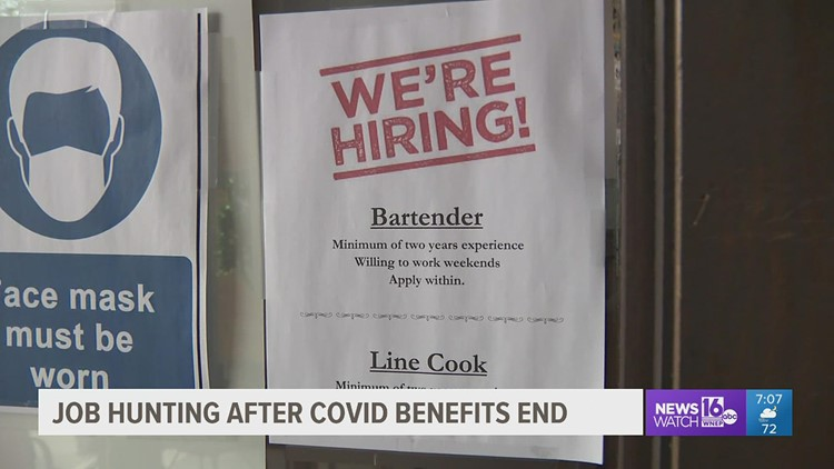 Job hunting after COVID-19 benefits end