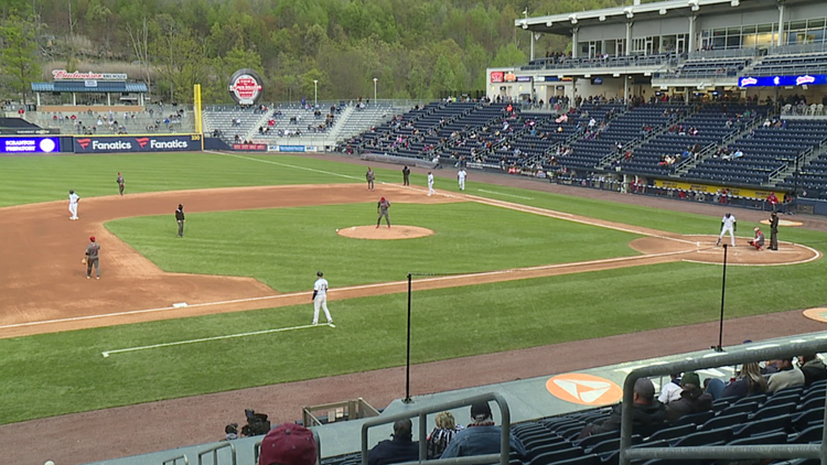 Scranton Wilkes-Barre RailRiders fans back in the stadium for opening night