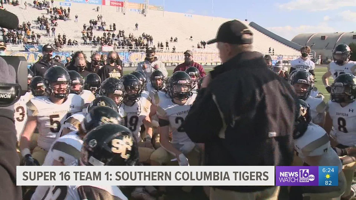 Super 16 Team 1: Southern Columbia Tigers