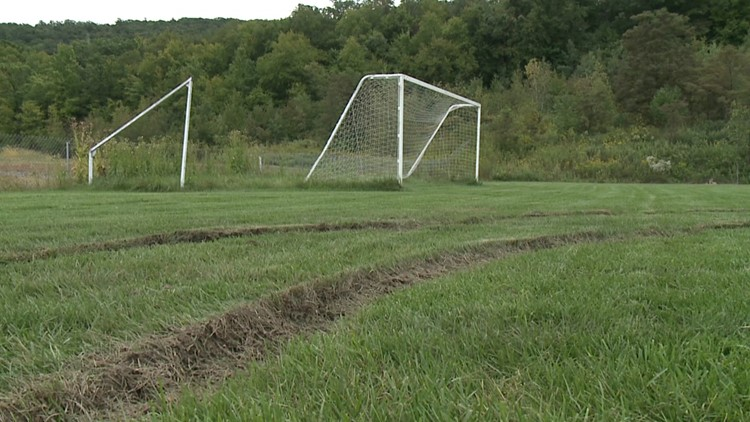Search is on for vandals in Luzerne County