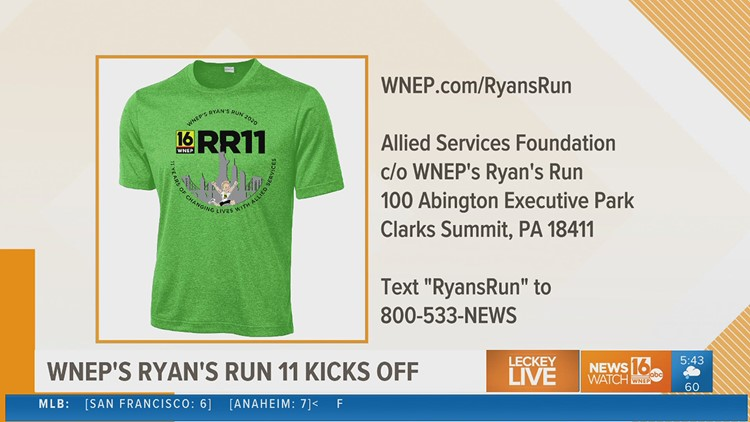 How to get involved in WNEP'S Ryan's Run 11