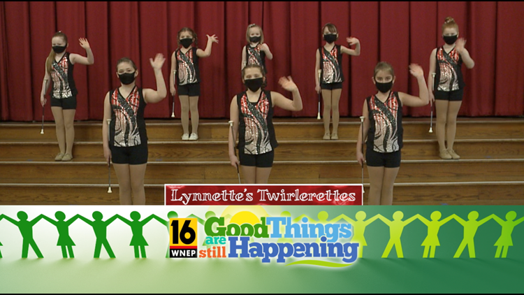 Good Morning PA - Lynnette's Twirlerettes