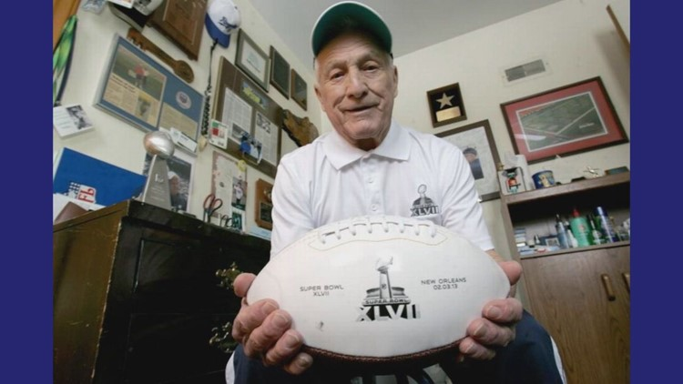Edwardsville native George Toma works his 55th Super Bowl as head groundskeeper
