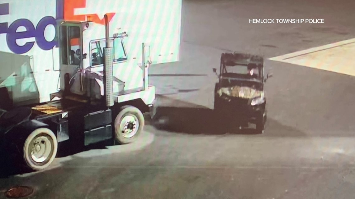 Police: UTV stolen from store in Columbia County