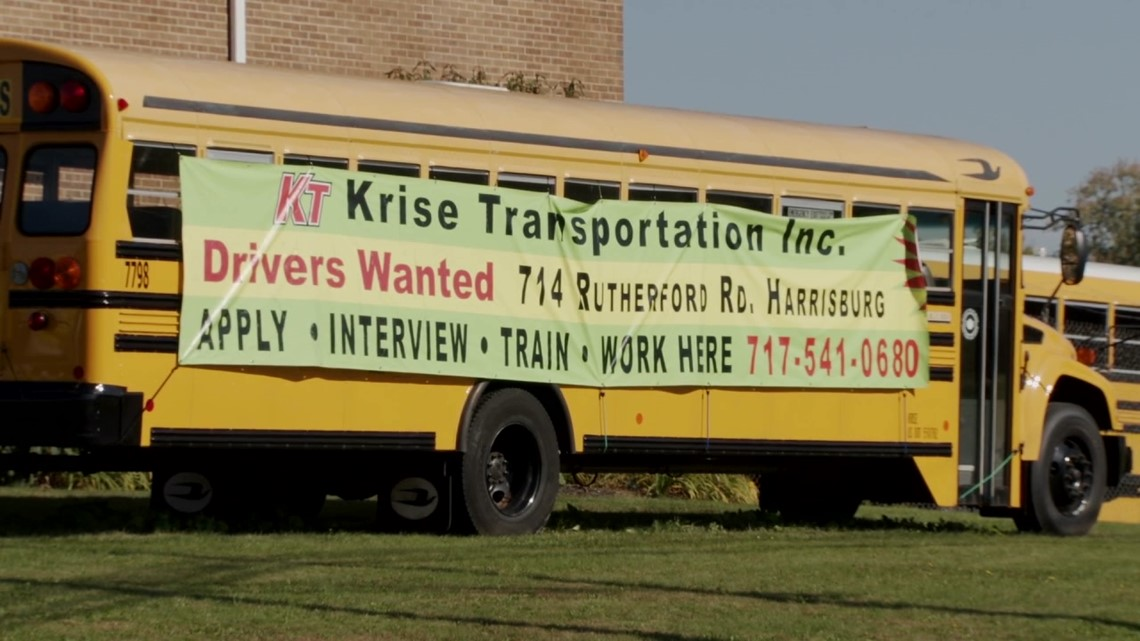 Searching for school bus drivers during shortage
