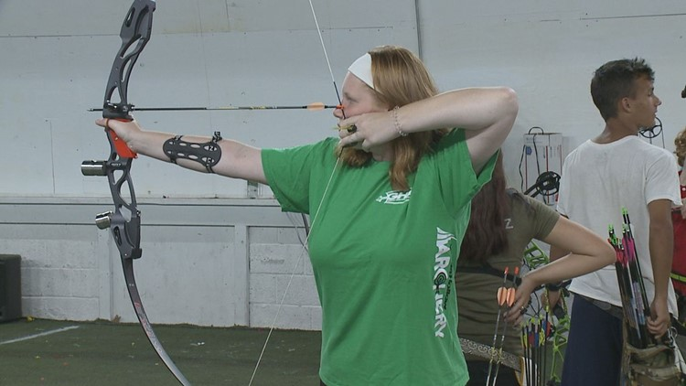 Maggie Brensinger Brings Back The #1 Ranking In The Country To Schuylkill County For Cadet Female Barebow Archery