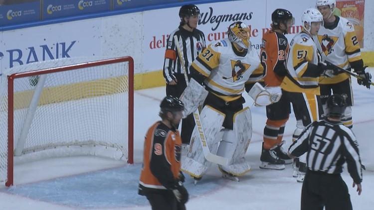 Wilkes-Barre/Scranton Penguins Beat Phantoms 2-1 in Season Opener