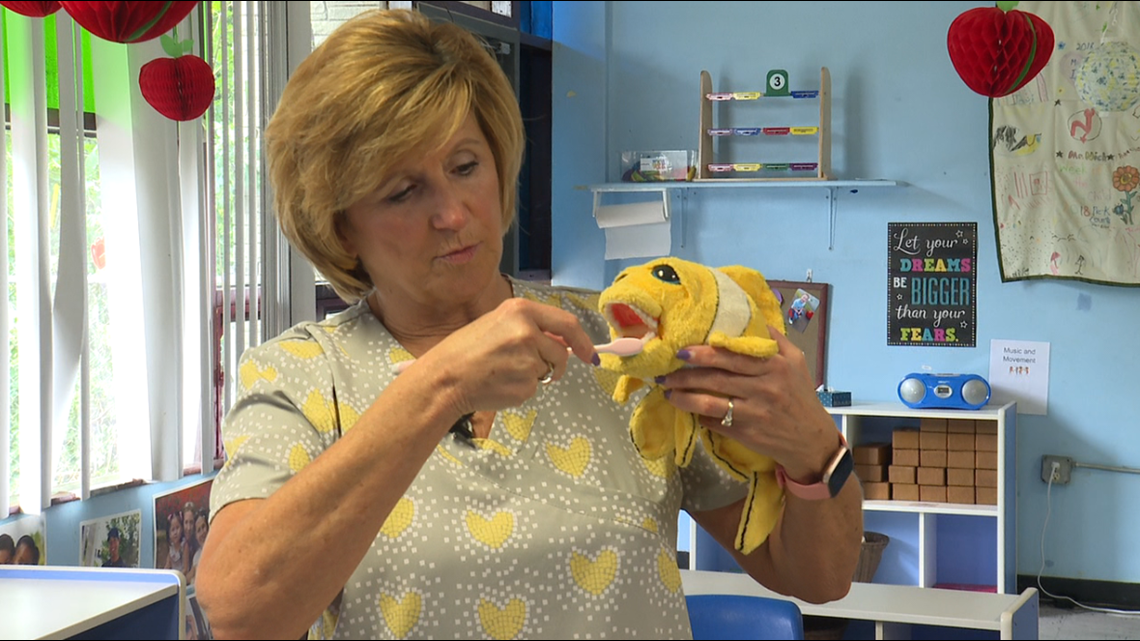 Healthwatch 16: Dentist brings checkups to Luzerne County Pre-K classroom