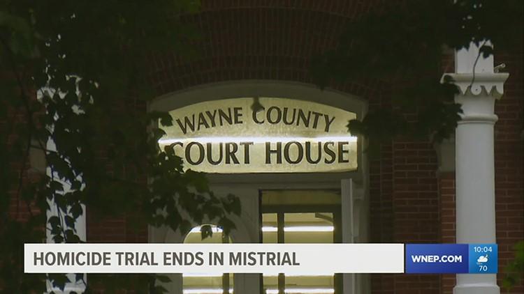 Homicide trial ends in mistrial