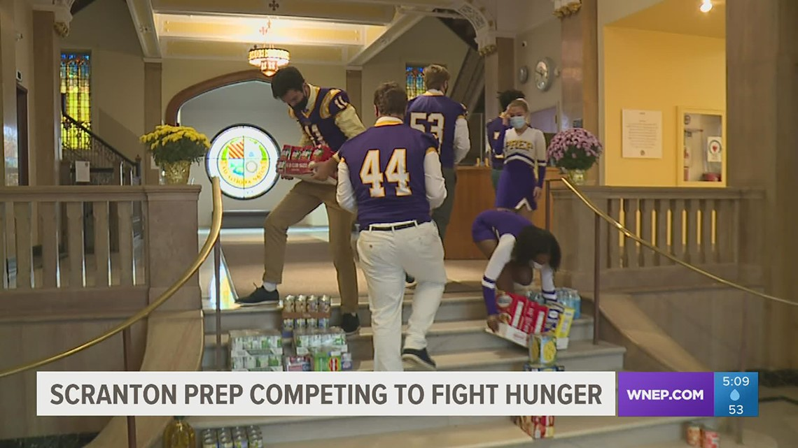Drive on at Scranton Prep to help the hungry
