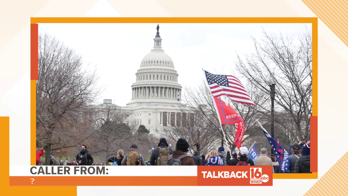 Talkback 16: Another Capitol arrest